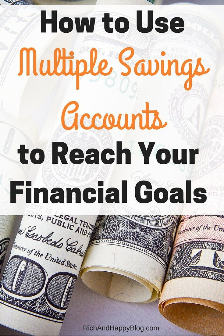 As you get older, you start having multiple goals you want to save for. Here's a quick and easy way to create multiple savings account to reach those financial goals.