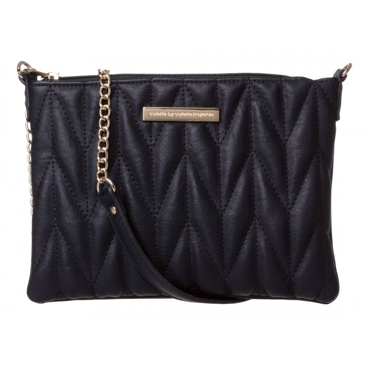 Peta Quilt Crossbody in BLACK #21144 - colette by colette hayman