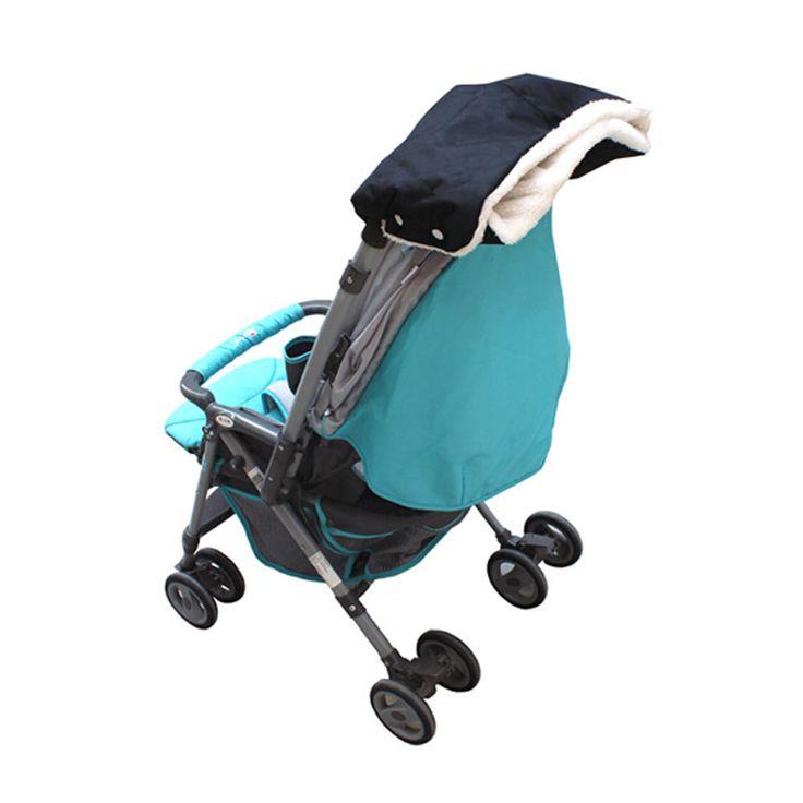 >> Click to Buy << Black Russian Winter Warm Pram Hand Gloves Waterproof Thicken Plush Baby Stroller Wheelchair Hand Gloves #Affiliate