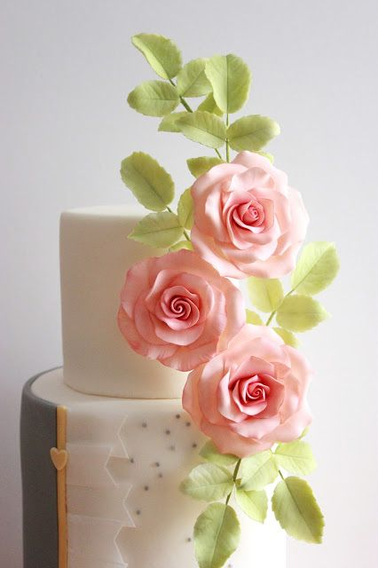 Rosas de pasta de goma                                                       …