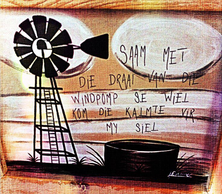 Saam met die draai van die wiel, kom die kalmte vir my siel..