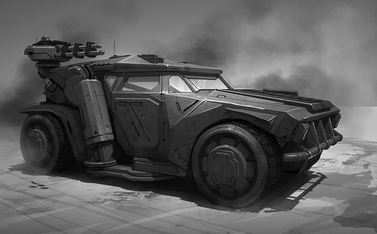 Concept cars and trucks: Futuristic vehicle concepts by Darren Bartley
