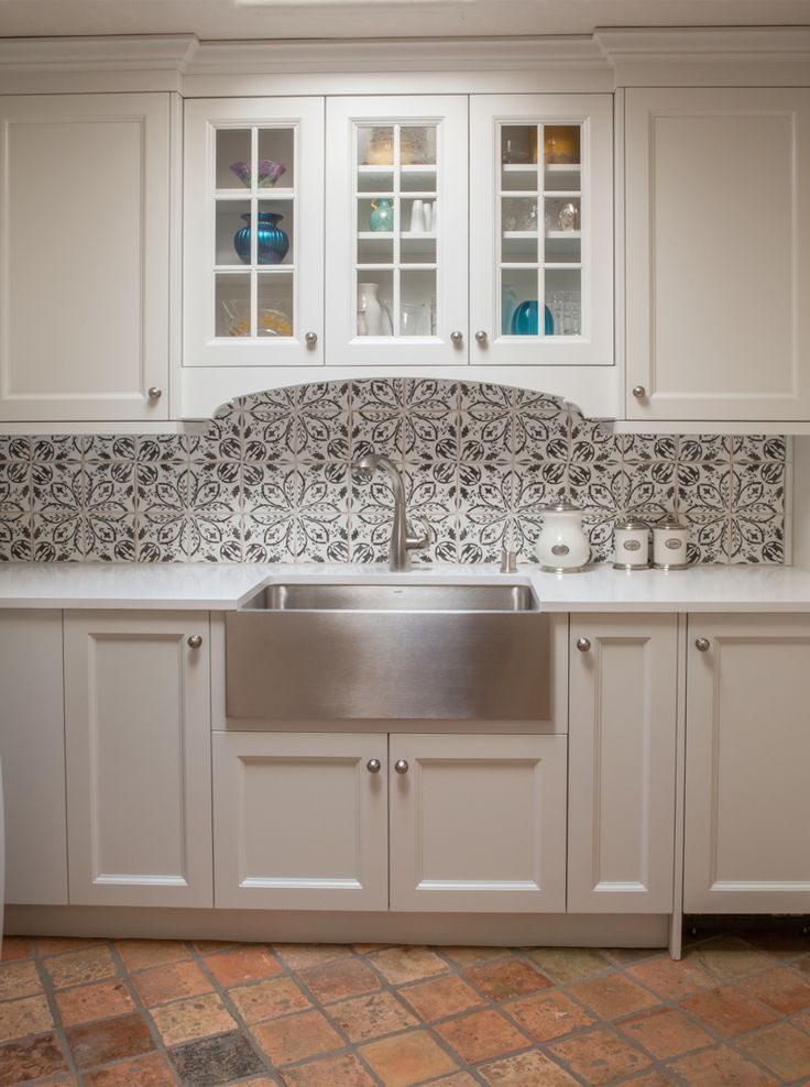 Kitchen By Statements Black And White Floral Patterns Add