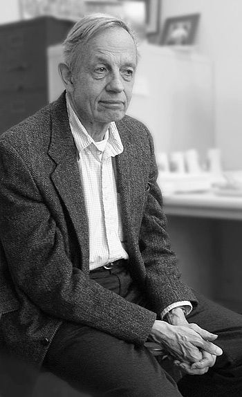 John Nash....brilliant mathematician that has schizophrenia. Watch his story in the movie, A Beautiful Mind.