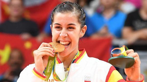 #Eurosport #Rio2016 #badminton #CarolinaMarin #Oro y 1@ no asiática que lo consigue! Grande! http://www.eurosport.es/juegos-olimpicos/rio/2016/juegos-olimpicos-2016-oro-historico-para-carolina-marin-tras-una-epica-remontada_sto5729934/story.shtml#es-fb-po