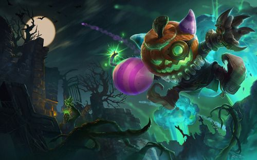 Halloween Bomber Ziggs by 阿尼丸 (LoL QQ Chinese Boards)