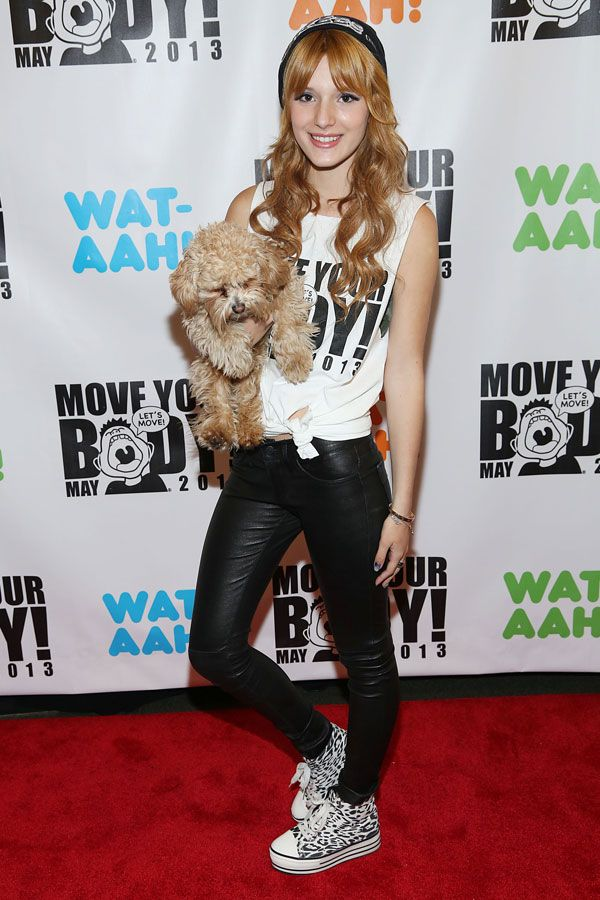 Kick up Your Summer Style in Star-Approved Sneakers featuring Bella Thorne