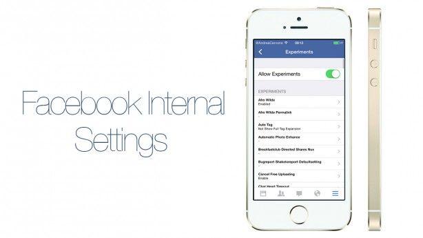 Come attivare le impostazioni nascoste nell'app di Facebook per iPhone