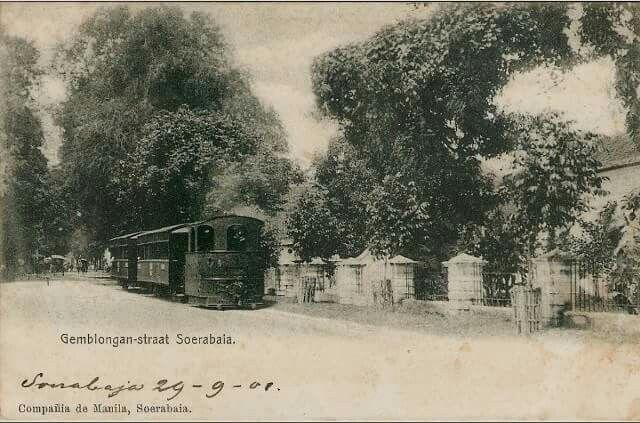Gemblongan Straat circa 1901