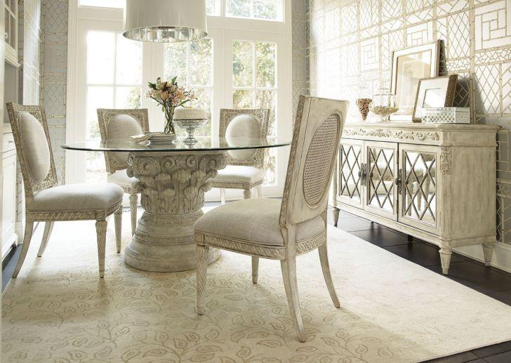 38 Best Glass Top Pedestal Table Images On Pinterest