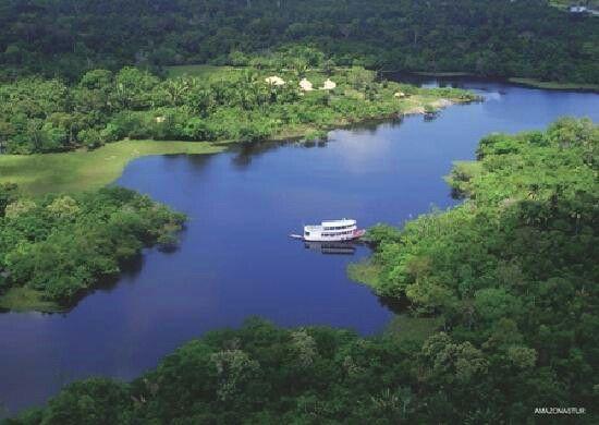 Rio Negro e a Floresta Amazônica. Estado: Amazonas Brasil