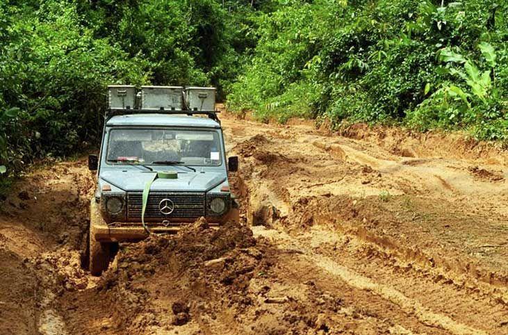 25 years on world roads with a Mercedes G-Class