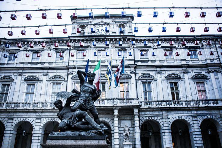 Orologio Palazzo Civico #Torino