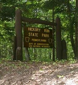 Hickory Run State Park, Carbon County