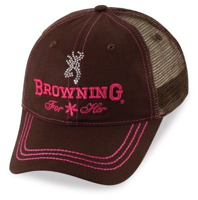 Jeweled Cap For Her - Brown | Click here to follow @browningarms