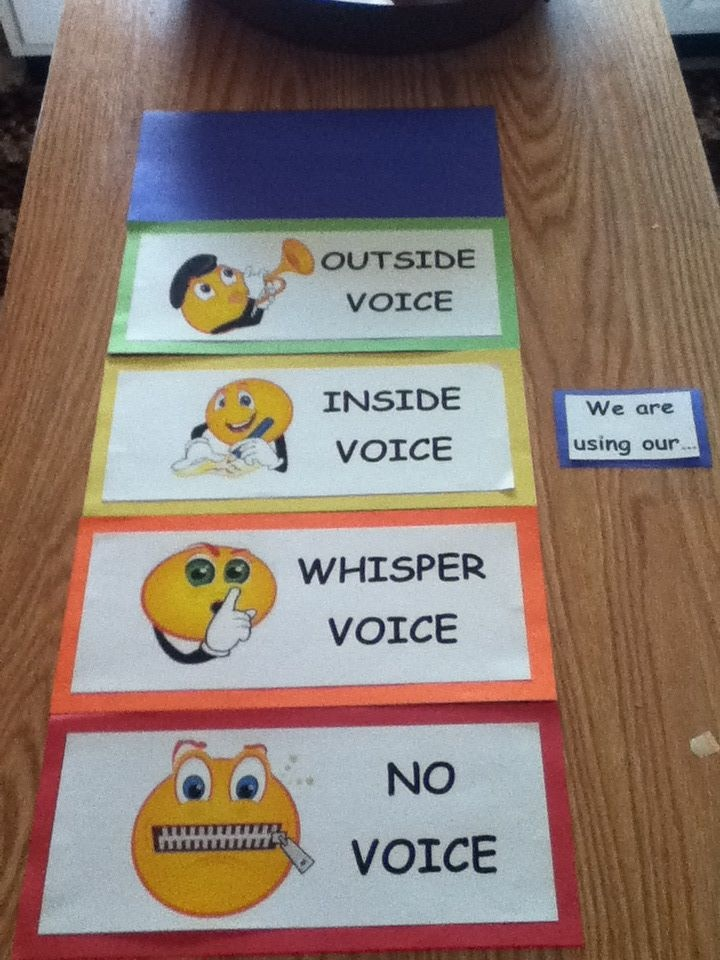 Noise O Meter. Use clothespin to clip on which level voice we are using.