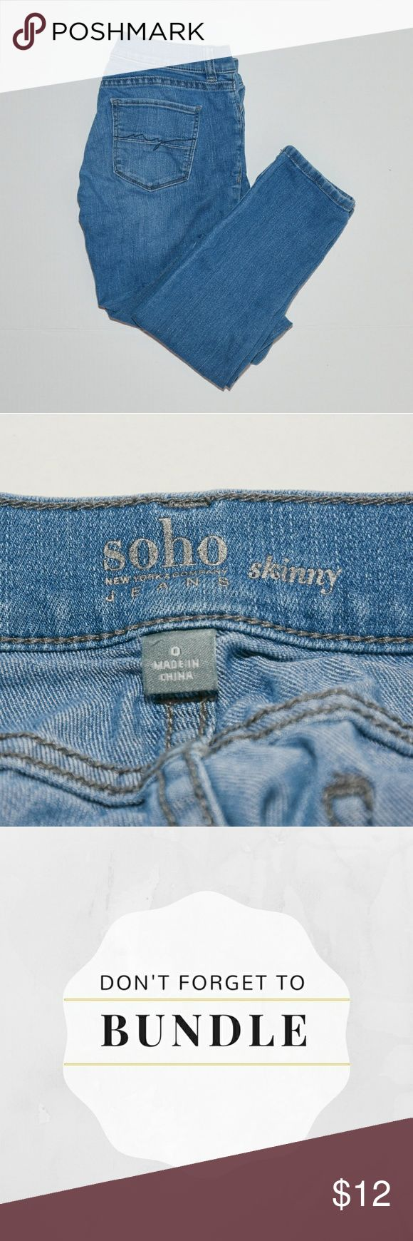 New York & Company Sohi skinny jeans These are soft like jeggins but aren't jeggins. Perfect skinny jeans to wear with flats or boots. Roll the hem 2-3x if you want to show a little ankle.  Model is 5'5  🚫 trades; reasonable offers will be considered. Smoke free, pet free. No flaws. New York & Company Jeans Skinny