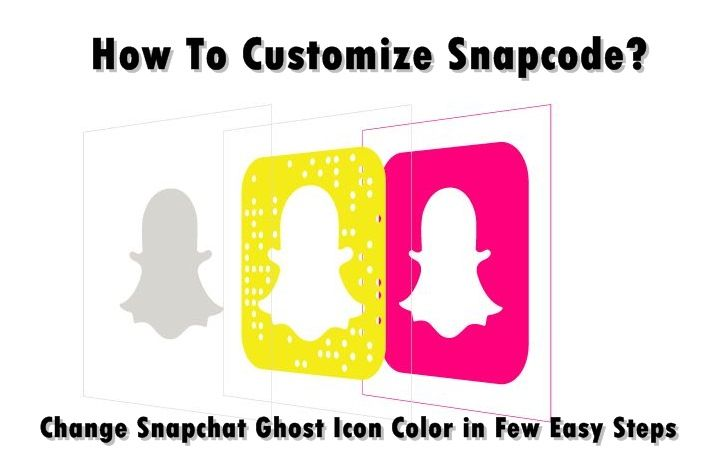 How To Customize Snapcode? Change Snapchat Ghost Icon Color in Few Steps