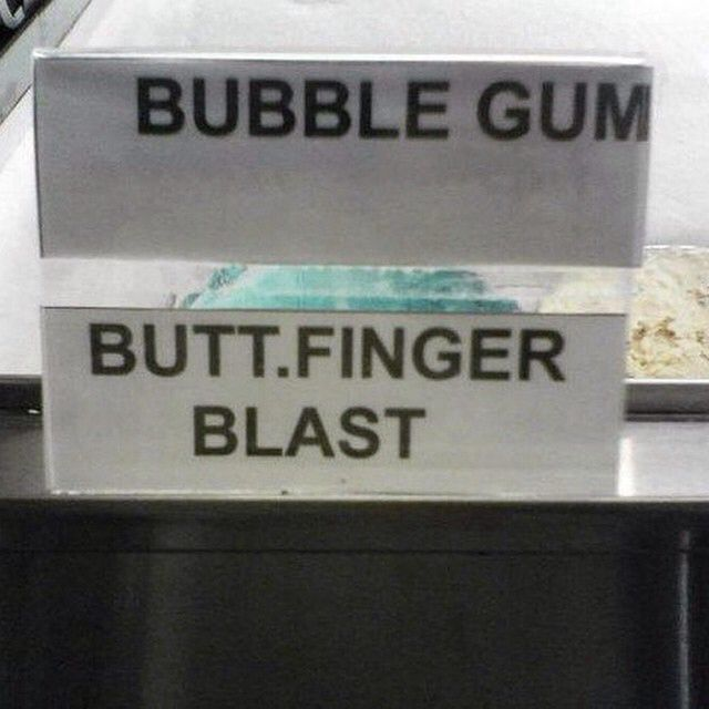 Smh..clearly a flavor debate
