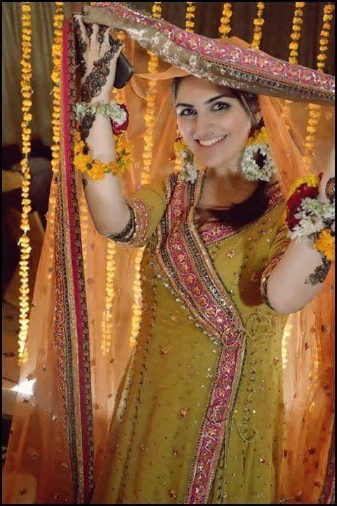 Mehndi Party Makeup : Images about mahndi dress on pinterest mehndi