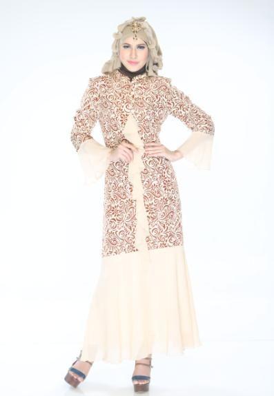 Gamis Unik dan Exclusive mode putri duyung, cocok untuk penampilan Exclusive Anda