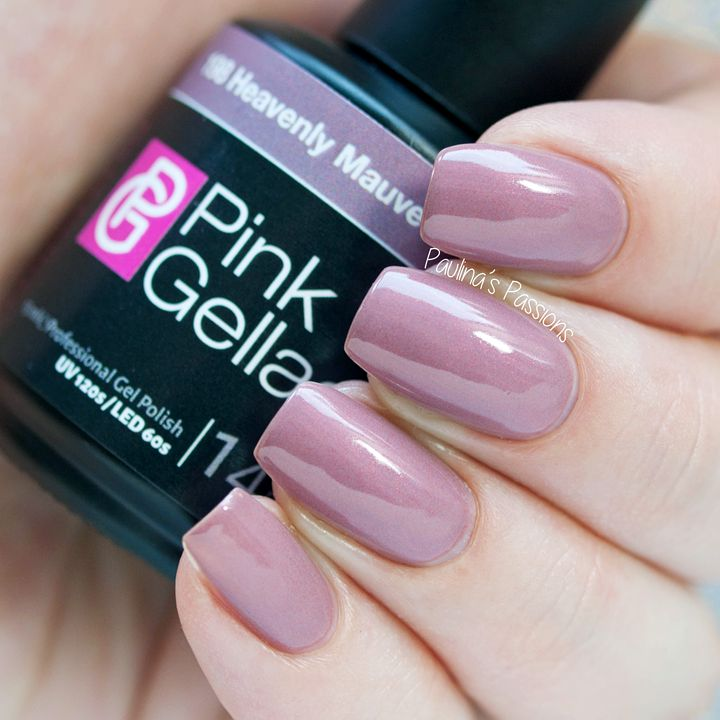 Heavenly Mauve Pink Gellac Uncovered 2 collection