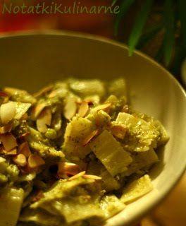 Łazanki z brokułami