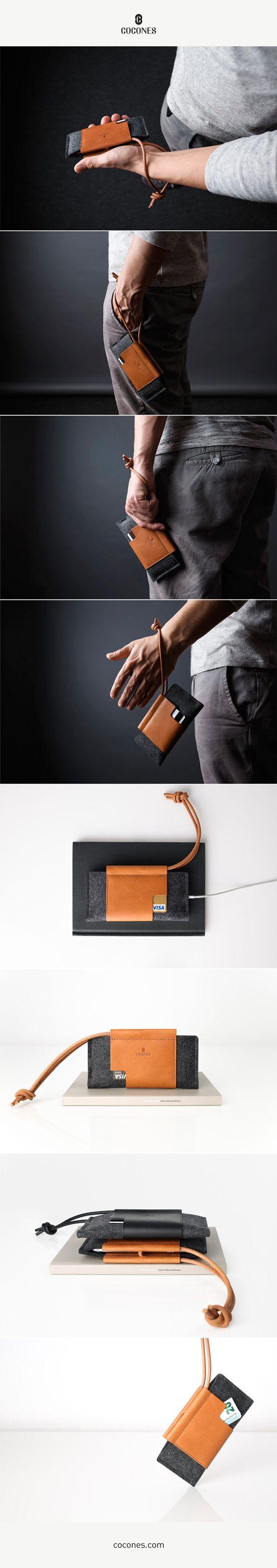 Cocones Loop Wallet Case - iPhone 7 / Pixel / OnePlus / S8