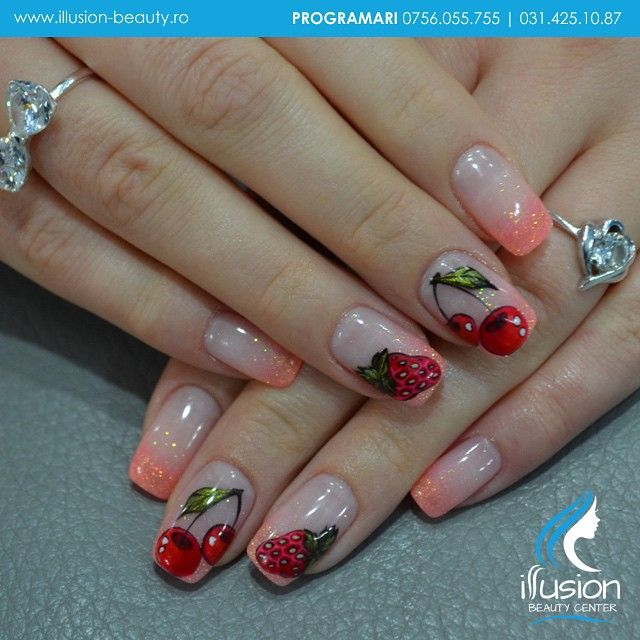 Signature Nails By Elena Vasilache, Illusion Beauty. Acrylic Nails  instagram: illusion beauty center www.illusion-beauty.ro