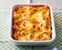 Lasagnes au jambon et ses petits légumes ww