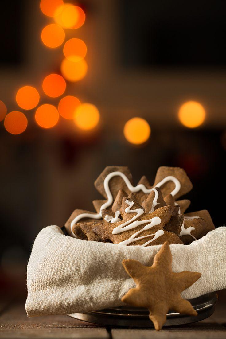 Easy Christmas gingerbread cookies!