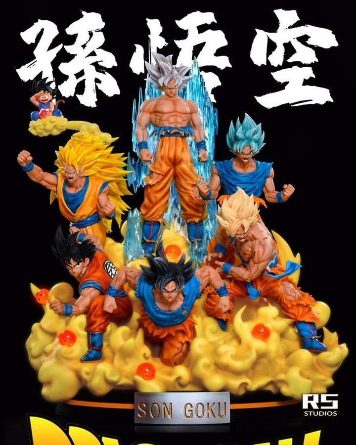 Rs Studio Son Goku All Style Pre Order Now At S 820 00 Singapore Dollar Studio Name Rs Studio Item Name So Nendoroid Anime Anime Figures Anime
