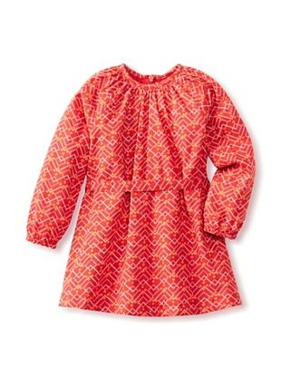 46% OFF Room Seven Girls 2-6X Dasies Dress (Red)
