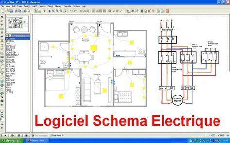Cette article explique certains logiciel pour faire dessin des schémas électriques gratuit maison industriel , plansde câblageet branch...