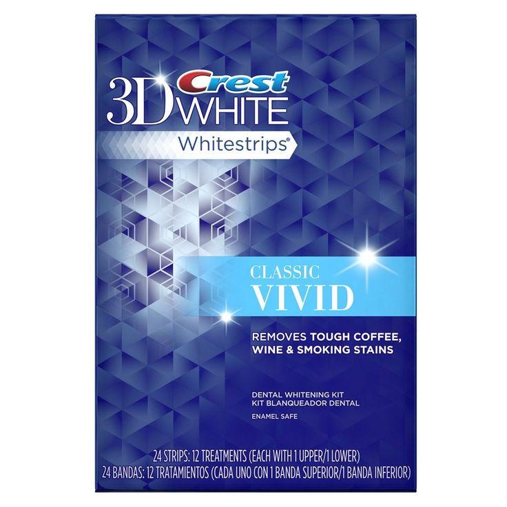 Отбеливающие полоски Crest Whitestrips 3D White Vivid