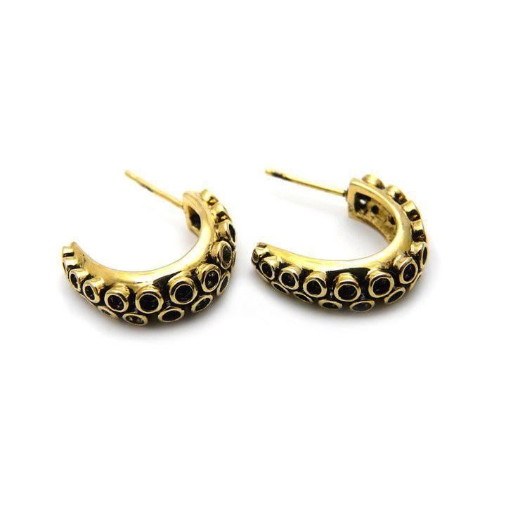 Squid Tentacle Earrings