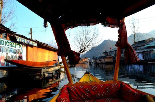 Floating market, Dal Lake , Srinagar