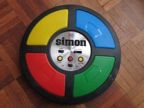 70s Toys And Games : Simon toy classic s mb retro vtg electronic game