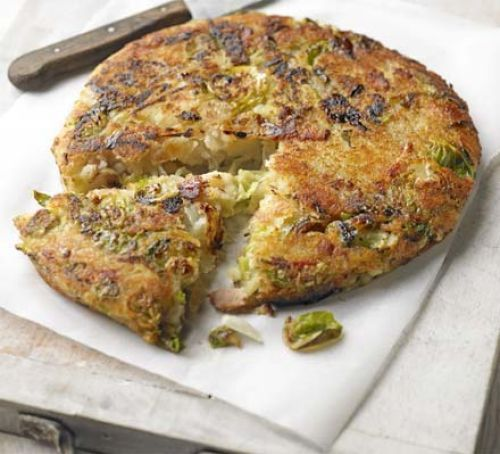 Bubble & squeak with bacon
