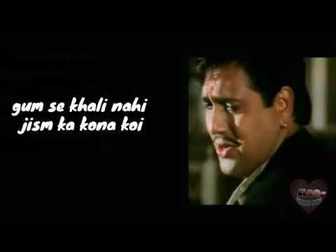 Best dialogue govinda || naseeb movie || shayri style