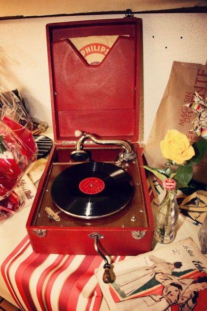 mariage années 50 déco