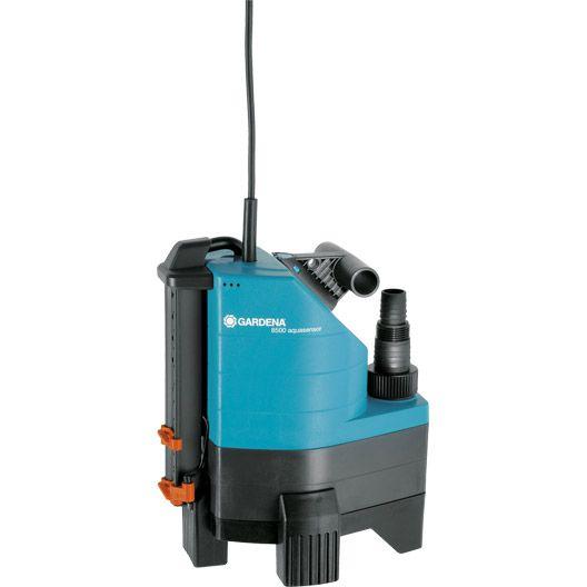 Pompe d'évacuation GARDENA Aquasensor 8500, débit 8500 L/h