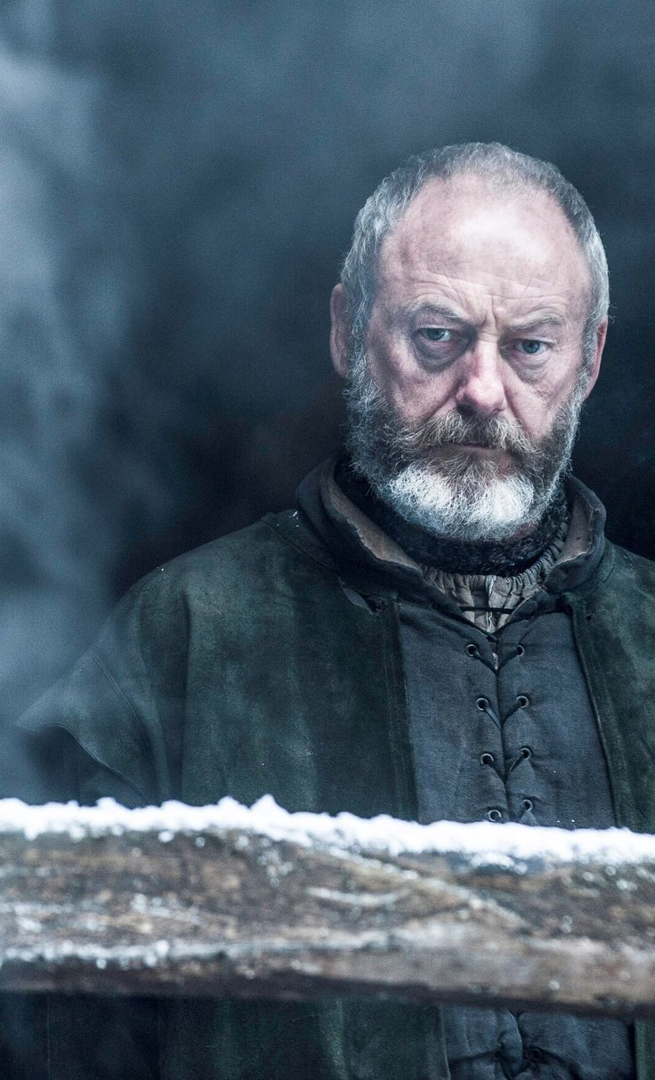 Liam Cunningham as Davos Seaworth – photo Helen Sloan/HBO Game of Thrones