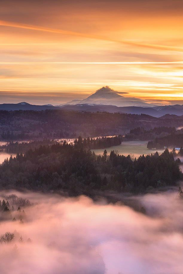 Mt Hood, Oregon, USA  Sunrise, Matthew Kuhns