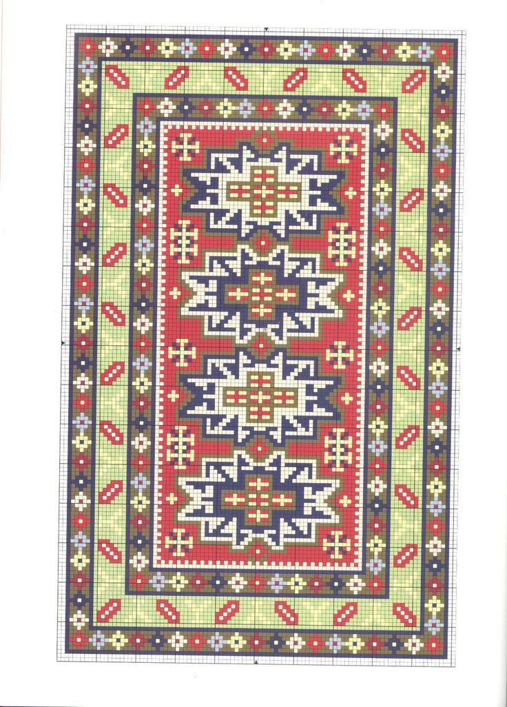 Esquema de alfombra