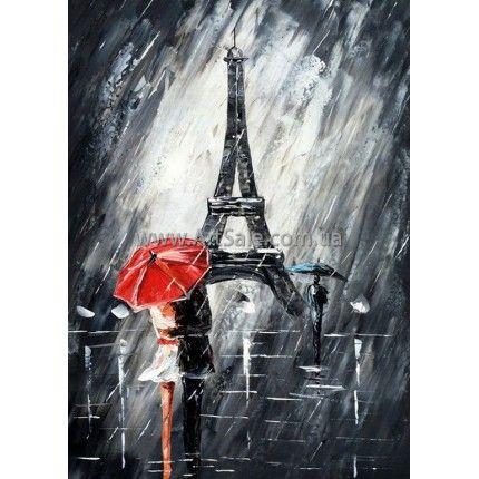 Картины Эйфелева Башня