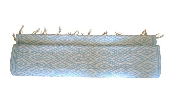 picknickmat blauw