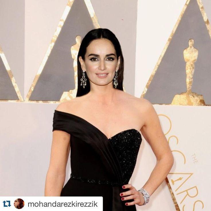 """5,453 Likes, 67 Comments - Ana De la Reguera (@adelareguera) on Instagram: """"Yo como mi Lucía Méndez anoche en los Oscares 😂😂😂😂😂 jajajaaja me lo hizo un fan. Gracias!!! /…"""""""