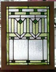 Image result for craftsman stained glass panels