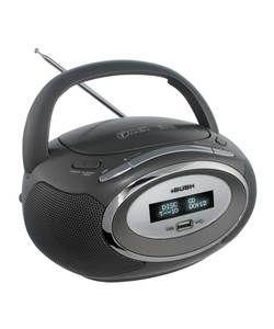 Bush DAB Radio Boombox - Grey.